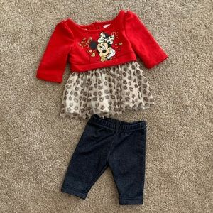 Newborn Minnie Mouse Outfit